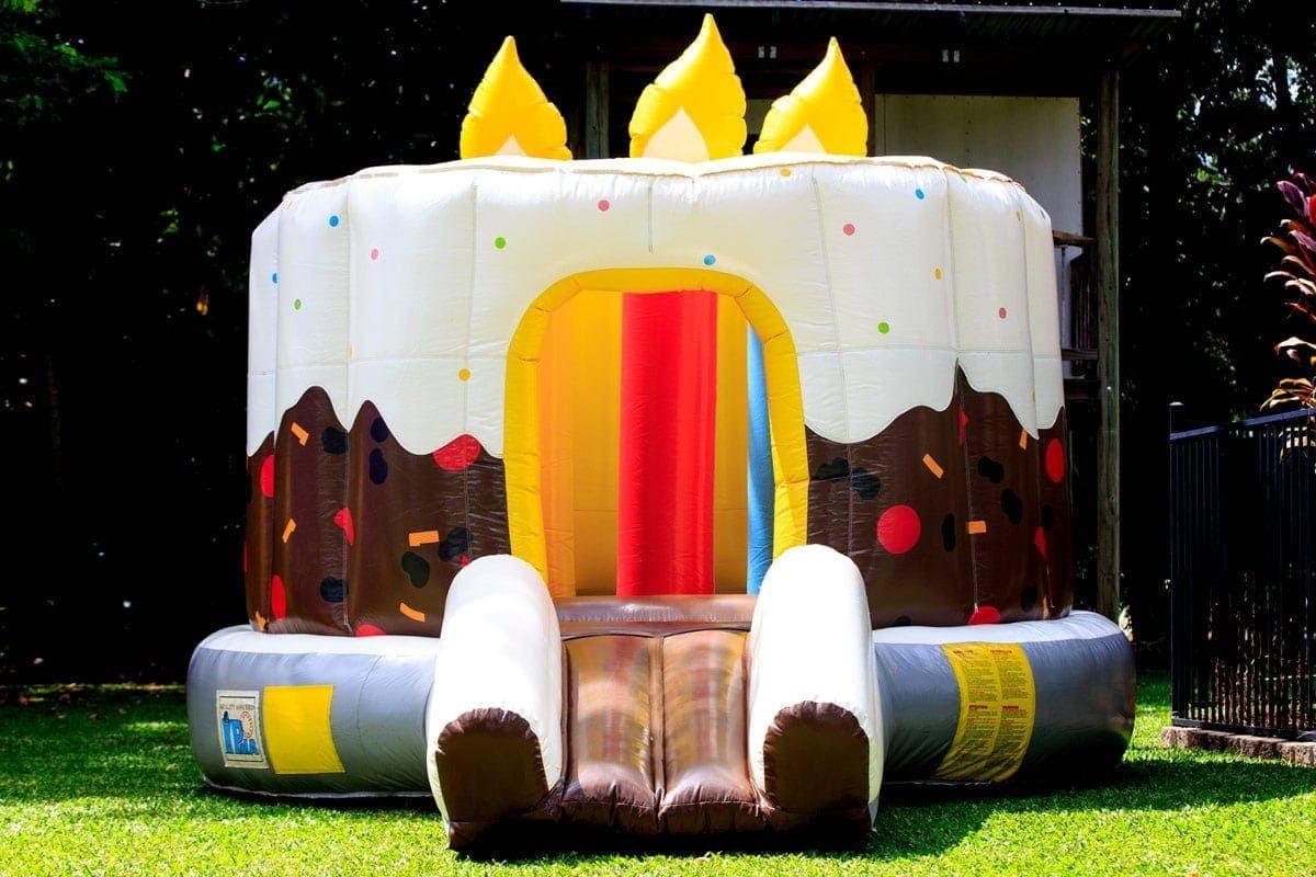 Birthday Cake Castle Jumping Jims