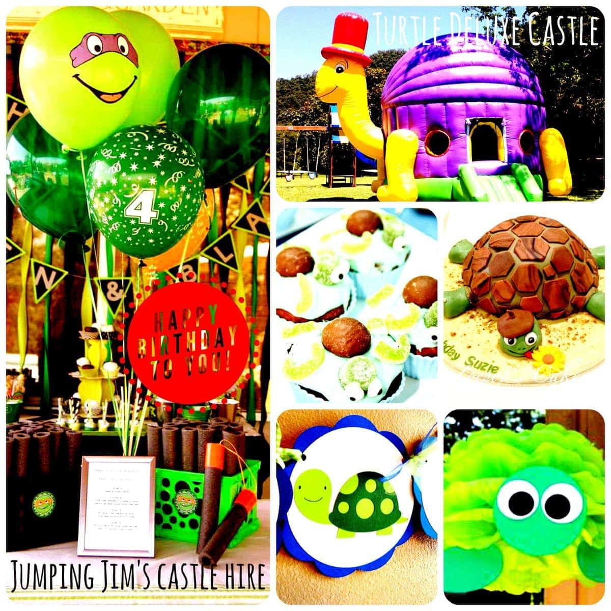 Turtle Themed Kid's Party Cairns