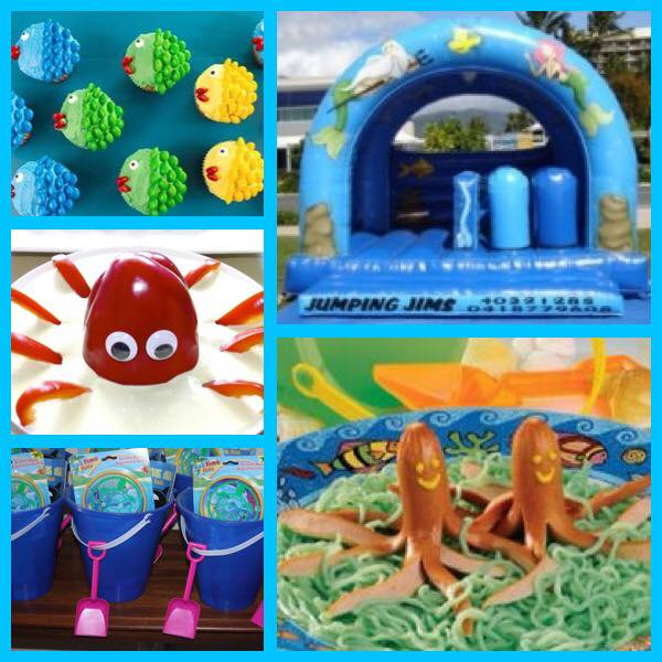 Under the Sea themed Kids Party Cairns
